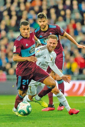 """Celta empata a Real Madrid en su visita al """"Bernabéu"""""""
