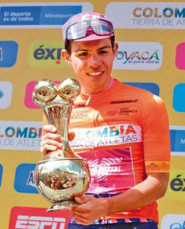 Sergio Higuita conquista el Tour Colombia de ciclismo