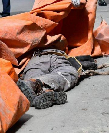 Un trabajador muere electrocutado
