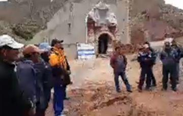 Se cumplió con inspección al templo de Salinas de Yocalla