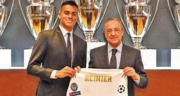 El brasileño Reinier es presentado como nuevo jugador de Real Madrid