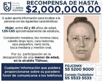 Difunden el retrato de la mujer que  secuestró a Fátima