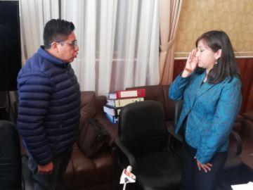 Posesionan a nueva directora de Comunicación en la Alcaldía