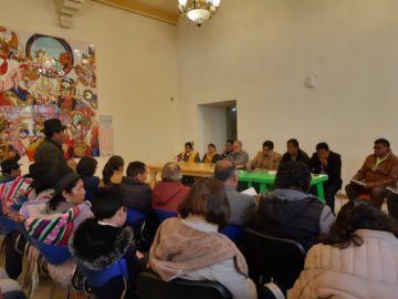 Reunión sobre patrimonio se realiza sin gobernador ni alcalde