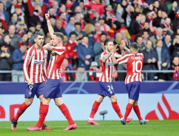 Atlético de Madrid somete a Liverpool