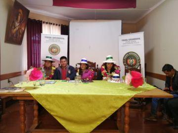 Se inaugura casa judicial en el municipio de Sacaca