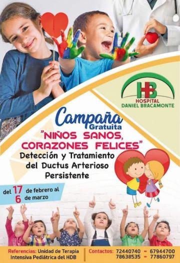 Bracamonte encara campaña infantil para enfermedades del corazón