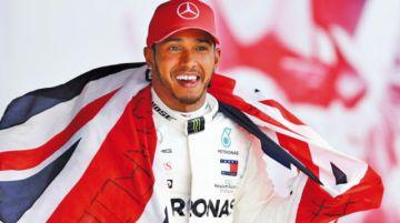 Hamilton domina las pruebas de F-1