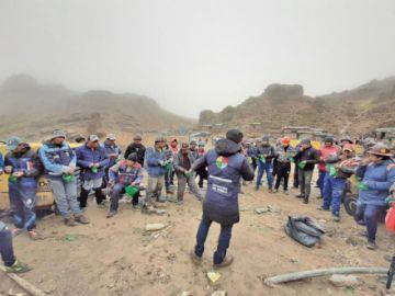 Defensoría incide en la prevención en mineros
