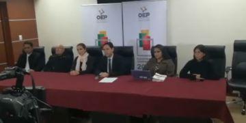 TSE inhabilita a Evo Morales, Mario Cossio y Diego Pary