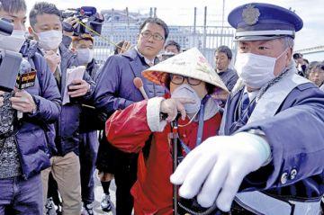 La cuarentena en el crucero de Japón finaliza tras 16 días