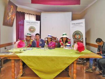 Inauguran una casa judicial agroambiental en Sacaca