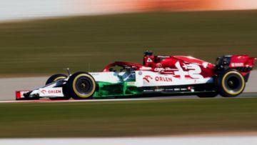 Raikkonen domina los ensayos de F-1