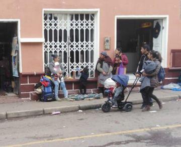 Potosí es ruta de paso para los migrantes venezolanos