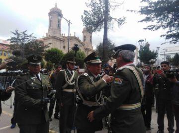 José Antonio Caviedes asume el cargo de Comandante de Policía