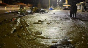 Emergencia en Tiquipaya por llegada de más mazamorra