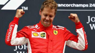 Ferrari de Vettel se rompe en pruebas