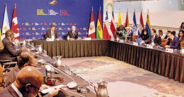 El Grupo de Lima negocia salida a crisis venezolana