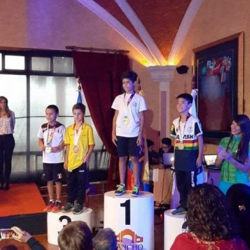 Potosino logra medalla de plata en el Sudamericano de Squash