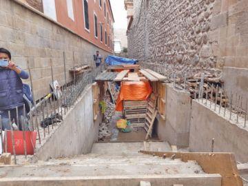 Confirman paralización de obras en el museo de la calle Junin