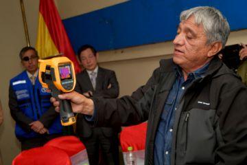 Prevención Coronavirus: 3 aeropuertos implementan escáners de temperatura