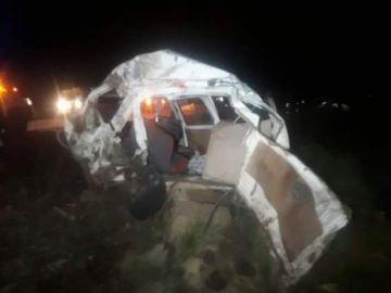 Triple colisión en la ruta Oruro-Pisiga deja al menos cinco muertos y 10 heridos