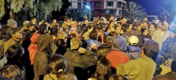 Los vecinos de Tiquipaya amenazan con bloqueos