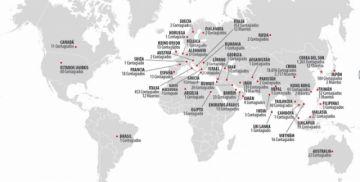 el coronavirus se expandió a 48 países e infectó a más de 82 mil personas, la mayoría en china