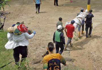 Las lluvias en Colombia provocan ocho muertos