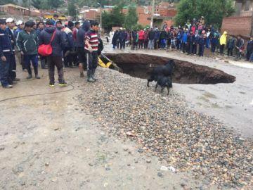 Declaran alerta naranja por desastres naturales en Potosí