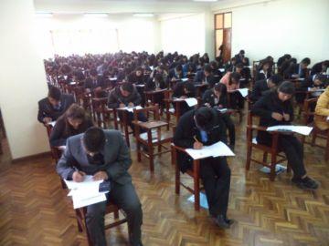 Hoy se aplica segundo examen en la UATF