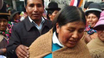 Advierten riesgo de fuga de Huanca tras ser liberada