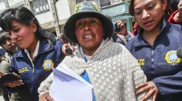 Otorgan libertad pura y simple a Felipa Huanca en caso Fondioc