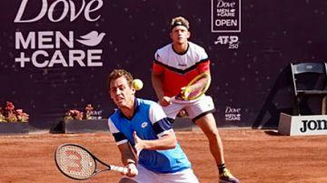 Carballés y Davidovich ganan en dobles en Chile