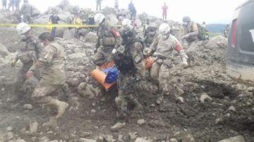 Tiquipaya: encuentran el cuerpo de un hombre en medio de la mazamorra