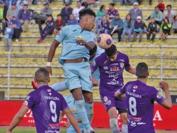 Real Potosí logra un punto de oro ante Bolívar