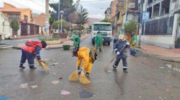 Emap recogió residuos generados durantes entradas carnavaleras