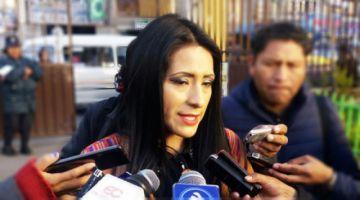 Fiscalía cita a declarar a la exministra Alanoca para el 10 de marzo
