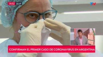 Confirman llegada del coronavirus a Chile y Argentina