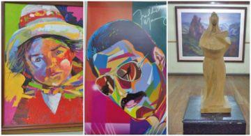 Abren muestra de docentes de Artes Plásticas de la U