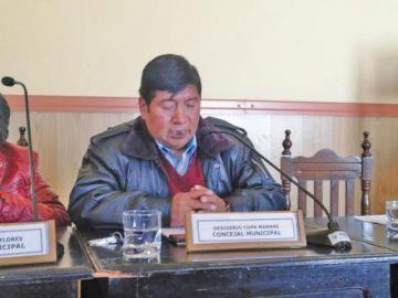 Concejal del MAS renuncia a curul por motivo de salud