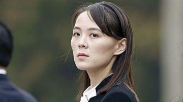 Hermana de líder norcoreano critica a Corea del Sur