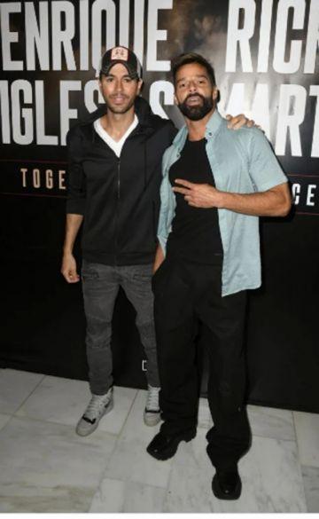 Ricky Martin y Enrique Iglesias anuncian gira conjunta