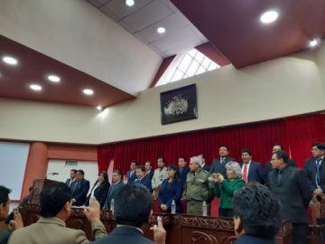 Vocales eligieron otro presidente del Tribunal de Justicia de Potosí
