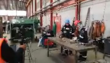 Inspeccionan la metalúrgica Karachipampa