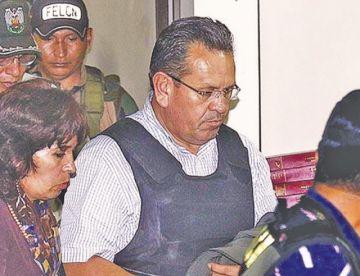 Santa Cruz: médicos analizan operar del corazón al excoronel Medina