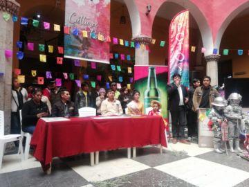 Entregan premios a los ganadores del carnaval potosino