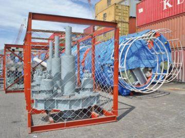 Carga para construir la planta de litio llegó por la terminal de Iquique