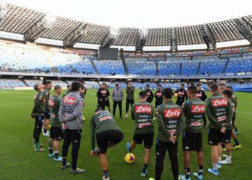 Nápoles visitará a Verona el viernes 13 antes de enfrentarse al Barza