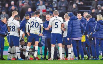 El Tottenham de Mourinho  empata y sigue de capa caída